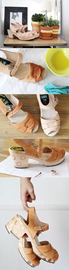 sandalias de bricolaje