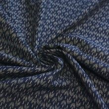 Tissu de coton japonais Nanami bleu