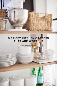 5 Pricey Kitchen Gadgets That Are Totally Worth It #theeverygirl