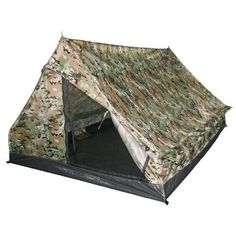 MilTec Mini Pack Standard Two Man Tent Multitarn *** You can find more details by visiting the image link.