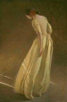 John White Alexander American, 1856-1915  Sunlight, 1909  Oil on canvas 219.4 x 141.3 cm (83 5/8 x 55 5/8 in.)