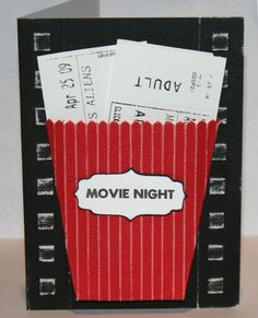 Movie Passes by Lydia Jackson : Core'dinations, movie scrapbook page