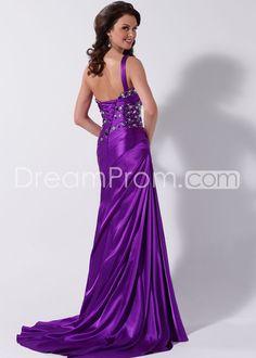 Floor-Length Strapless Sashes Dresses