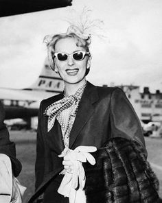 ...Christine Jorgenson on her return from her reassignment surgery in Denmark....if she really was not a woman, no body was...