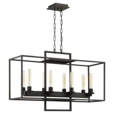 Linear Chandeliers on Hayneedle - Linear Chandeliers For Sale - Page 2