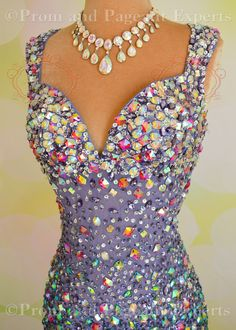Glitzy Jasz Couture 4614 Perwinkle Gown. Buy here for the best price: promandpageant.storenvy.com