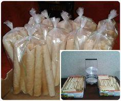 Vanilkové trubičky - zuzkinemaskrty.sk Crackers, Basket, Pretzels, Biscuit
