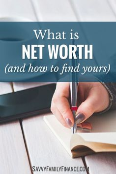 Net worth gives you a powerful view of your finances.