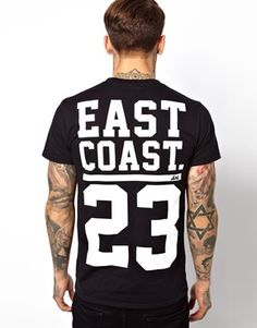 Image 1 ofAnticulture T-Shirt with Brooklyn East Coast Print