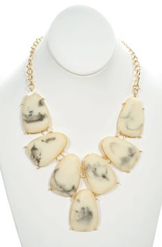 Rarity Necklace in Ivory - $24.50