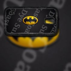 Batman Yellow and Black Horizontal Logo Design on Samsung Galaxy S5 Black Rubber Silicone Case by EastCoastDyeSub on Etsy https://www.etsy.com/listing/195669503/batman-yellow-and-black-horizontal-logo