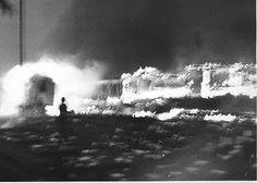 Ferrosario: El incendio de Rosario Oeste y Empalme Graneros durante el Rosariazo