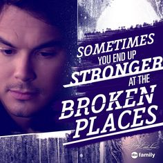 "Aw, Caleb always gives the best advice! #PLL #SummerOfAnswers - 6 * 2 ""Song of Inocence"""