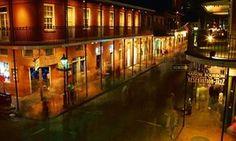 Bourbon Street in New Orleans, US