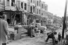 1959 Tornado in St. Louis - Could be Gaslight Square