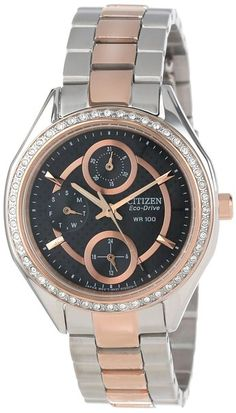 36e019806f2fa online shopping for Citizen Women s Drive Citizen Eco-Drive POV Stainless  Steel Swarovski Crystal-Accented Watch from top store. See new offer for  Citizen ...