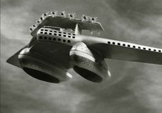 Dieselpunk - Airliner No 4 concept by Norman Bel Geddes