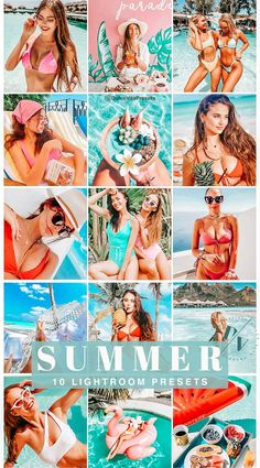 Summer - 10 Mobile Lightroom Presets @dolcevitapresets #lightroompresets #mobilepresets #presets #lightroom #blogger #travel #influencer #instagrammer #travelblogger #traveling #beach #sea #vintage #retro #tanned #bronze #sunkissed #tanning #summer #bundle