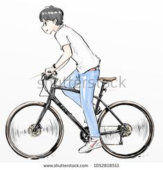 Top 6 Facts You Should Know About Your New Motorcycle Bicycle Sketch, Bicycle Drawing, Bicycle Illustration, Illustration Sketches, Illustrations, Art Reference Poses, Drawing Reference, Dad Drawing, Poses Anime
