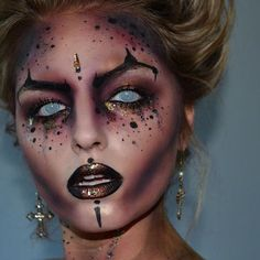 Image result for scary egyptian makeup