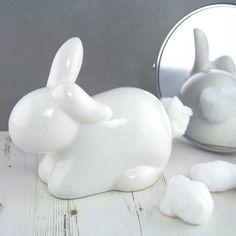 Cotton Ball Dispenser - Bunny Dispenser