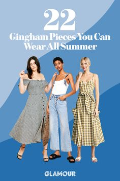 0146cd4d7c47 22 Gingham Pieces to Get You in the Summer Spirit  OOTD Fashion 2018