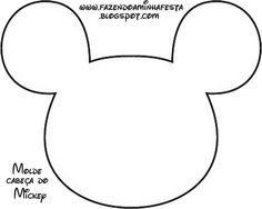 molde de chaveiro do mickey em feltro - Pesquisa Google