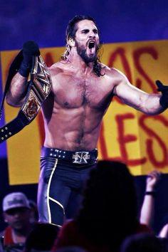 """""""@CMPunkXIII: @WWERollins WWE World Heavyweight Champion. """""""