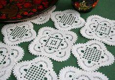 Maggie's Crochet   Flower Bouquet Doily Crochet Pattern