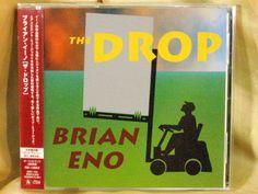 CD/Japan- BRIAN ENO The Drop +2 bonus trx w/OBI RARE ORIGINAL 1997 w/TRANPARENCY