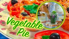 Easy Vegetable Pie 🍅 Stop Motion Cooking Channel🍏 Let's cook! 😃