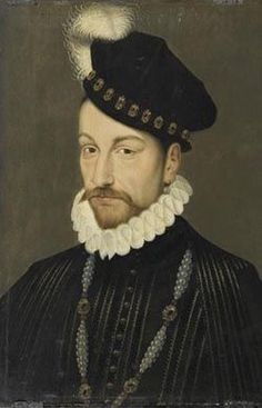 Charles IX, King of France by Francois Clouet 3