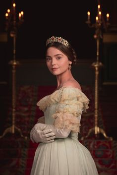 Jenna Coleman plays Queen Victoria.