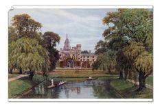 Cambridge, St Johns College, A4 Poster, Photo Wall Art, Poster Size Prints, Photo Mugs, St John's, Photographic Prints, Fine Art Prints