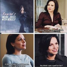 "Those 28 years when Regina had to have inside jokes with herself. | 24 Jokes Only ""Once Upon A Time"" Fans Will Understand"