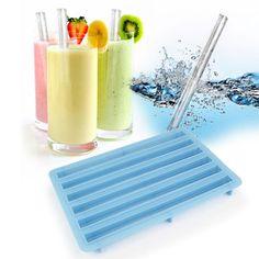 BARBUZZO: Ice Straws Set Of 2, at 22% off!