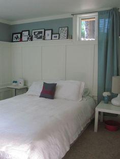 Small Basement Bedroom Queen · Kleiner Keller SchlafzimmerKeller ...
