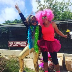 Ready to dance!  #aokfitnessfundraising #disco #dancewalk #charity #bermuda #wearebermuda by soniajabon
