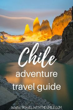 Everything you need to know about backpacking in Chile and a suggested itinerary Chile South America What to do in Chile 2 weeks Chile itinerary Torres del Paine Adventure things to do in Chile Chile travel guide South America Destinations, South America Travel, Travel Destinations, Africa Destinations, Holiday Destinations, Adventure Awaits, Adventure Travel, Machu Picchu, Travel Chile