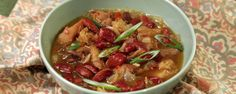 Quick Chicken Chili Recipe | The Chew - ABC.com - http://abc.go.com/shows/the-chew/recipes/quick-chicken-chili-carla-hall