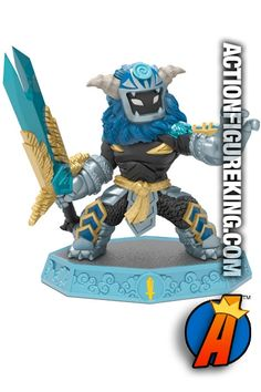 2016 MASTER WILD STORM gamepiece from Skylanders Imaginators by Activision. Visit our website for a full line of Skylanders Imaginators figures and collectibles including pricing and availability. #wildstorm