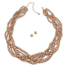 An unexpected hue gives this usually traditional look a completely new vibe - perfect for fall. Comes with matching stud earrings. Regularly $14.99, buy Avon Jewelry online at http://eseagren.avonrepresentative.com