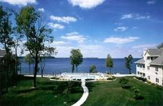 Westwood Shores Resort. Lacks the charm of a cottage but full amenities and views of Sherwood Point Lighthouse.