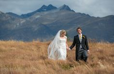 Sarah & Al's Queenstown Wedding - Rich Bayley Photography