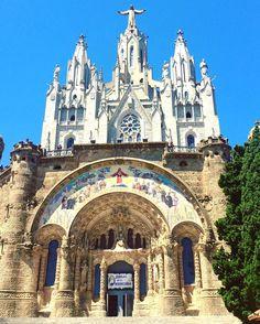 Iglesia del Sagrat Cor - Tibidabo, Barcelona