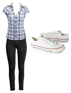 """Untitled #1577"" by mirra95 on Polyvore featuring Converse"