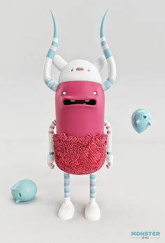 MONSTER. FUR-BIKE by AARON MARTINEZ, via Behance