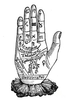 Items similar to old palm reading illustration for reading palms and telling fortunes.digital image no. 798 on Etsy Palm Reading Charts, Freundin Tattoos, Fine Art Prints, Canvas Prints, Dream Book, Palmistry, Best Friend Tattoos, Book Of Shadows, Making Ideas