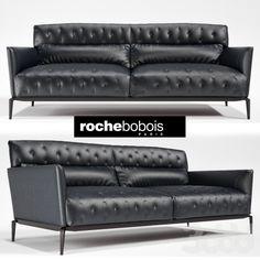 ROCHE BOBOIS CLARIDGE 3-SEAT SOFA