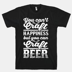 This beer shirt is perfect for any brew master out there looking to show some love for their favorite hobby.